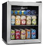 Subcled LED  Mini Kühlschrank schwarz |50l Bier, Weingetränke Kühlschrank...