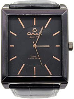 Leather Analog Wrist Watch 00OAS119BB12 للرجال