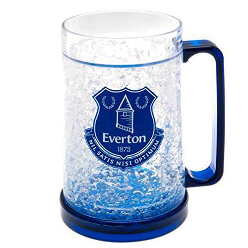 Official Everton FC Freezer Tankard for Ice Cold Beer