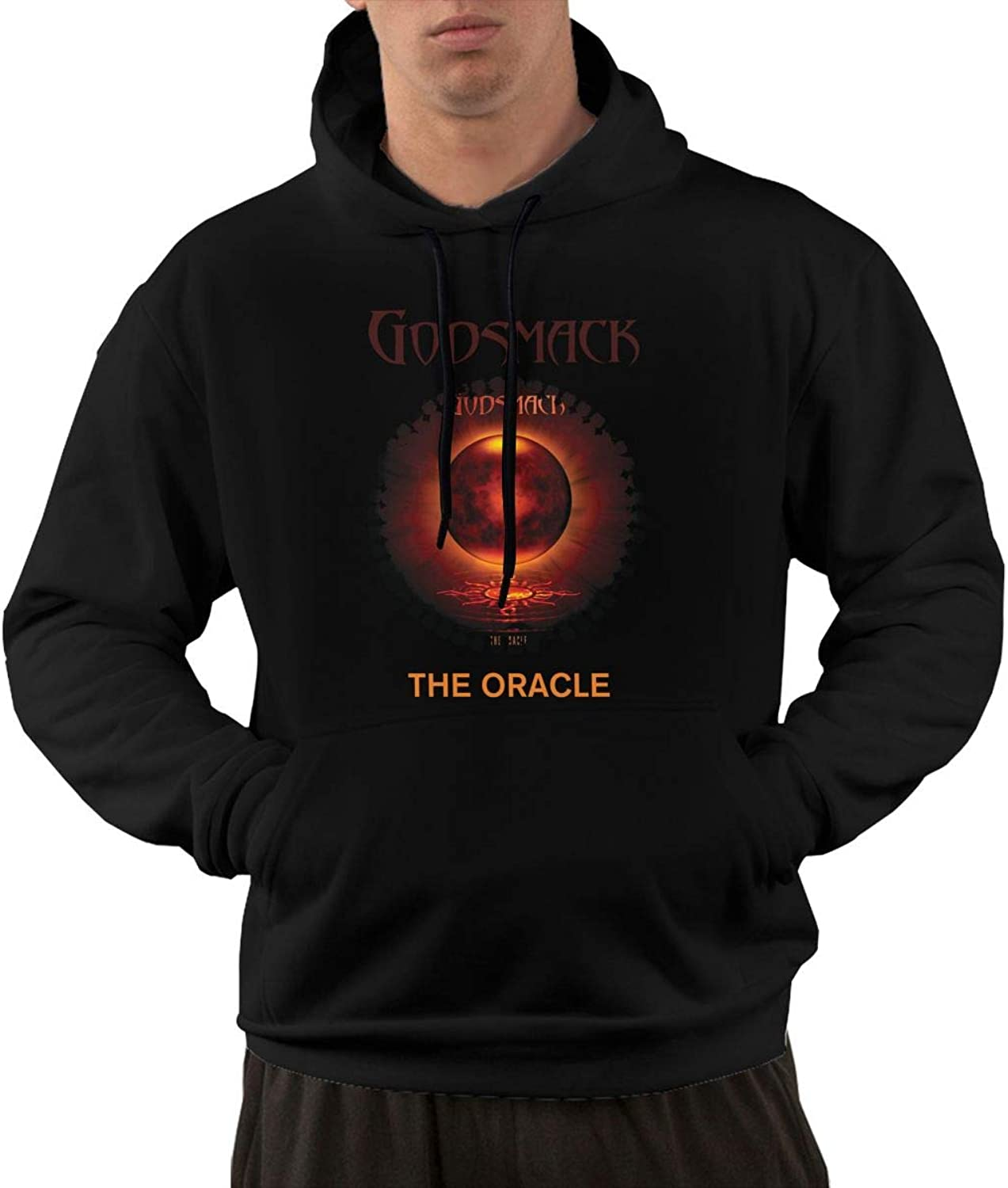 NolanO Godsmack The Oracle Mens Hoodies Sweatshirt With Pocket Black