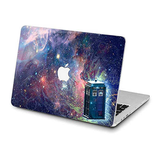 Lex Altern Hard Case for Apple MacBook Pro 15 Air 13 inch Mac Retina 12 11 2020 2019 2018 2017 2016 Doctor Who Women Movie Laptop Police Call Box Cover TV Show Plastic Protective Galaxy Touch Bar