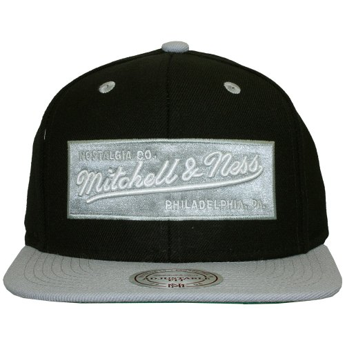 Mitchell & Ness - Casquette Snapback Homme 2Tone Label Logo