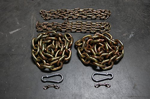 """5/8"""" & 1/2"""" Weight Lifting Chain Package - 65.6 lbs - Powerlifting"""