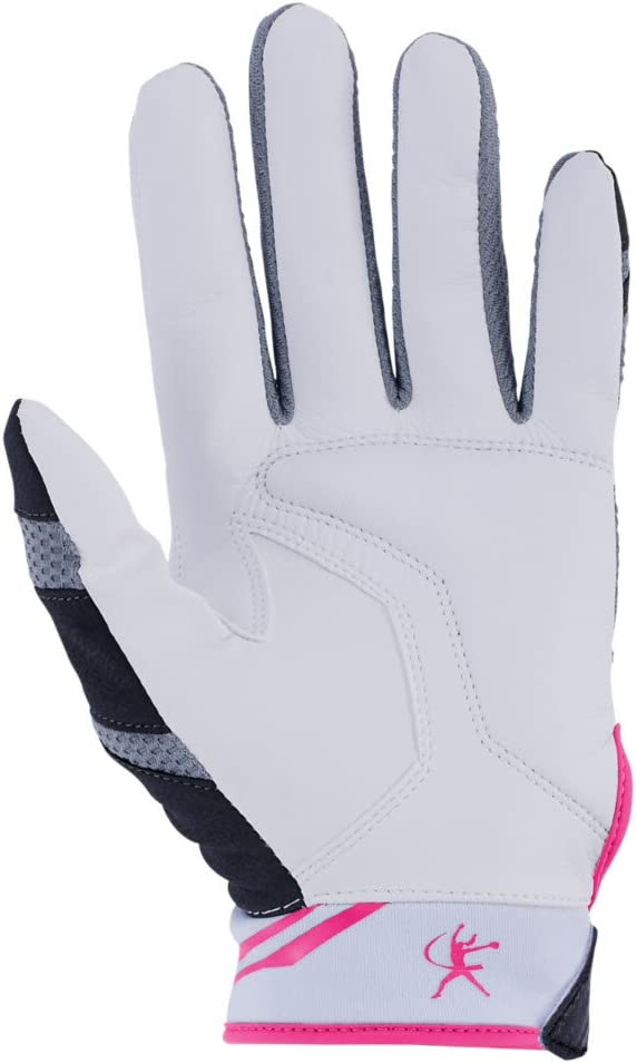 Mizuno Finch Adult Womens Fastpitch Softball Batting Gloves