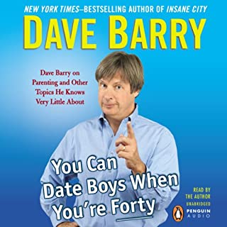 You Can Date Boys When You're Forty audiobook cover art