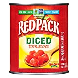 Redpack   Diced Tomatoes   28oz Cans (Pack of 12)