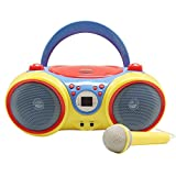 Best Childrens Cd Players - Hamilton Buhl Kids Audio CD Player Karaoke Machine Review