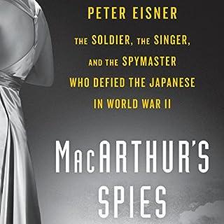 MacArthur's Spies audiobook cover art