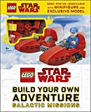 LEGO Star Wars Build Your Own Adventure Galactic Missions: With LEGO Star Wars Minifigure and Exclusive Model (LEGO Build Your Own Adventure)