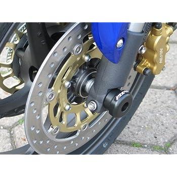 Satz GSG Moto Sturzpads Vorderrad passend f/ür die Honda CB 600 Hornet PC34 PC36 98-06