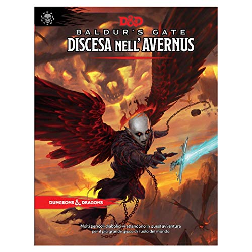 Asmodee - Dungeons & Dragons 5th Edition: Descent into Avernus, Adventure Role-Playing Game, 4037