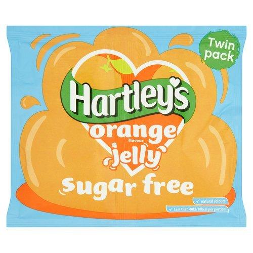Sobre De Gelatina Sin Azúcar Hartleys Sabor Naranja 23 Gr