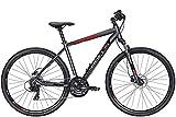 BULLS Crossbike 1 28 Zoll Herrenfahrrad Crossrad 2021, Farbe:grau, Rahmenhöhe:58 cm