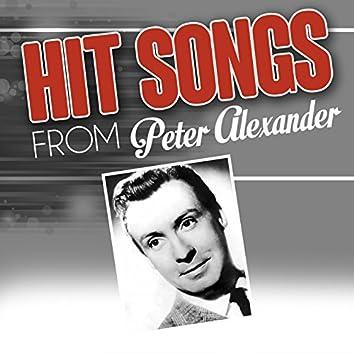 Hit songs from Peter Alexander