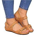 Women's Sport Athletic Sandals, Summer Comfy Outdoor Walking Hiking Sandals, Orthopedic Open Toe Sport Sandals Yellow