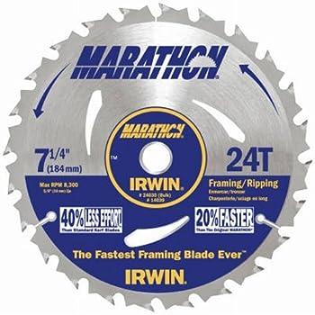 Irwin Tools Marathon 24T 7-1/4