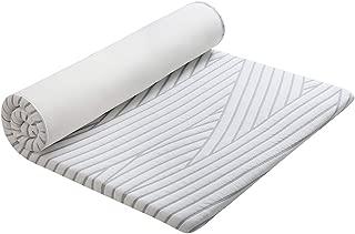 Mkicesky マットレス 高反発 シングル ベットマット 敷き布団 厚さ4cm 三つ折り 高密度ウレタンマット 寝具 ごろ寝マット 体圧分散 腰楽 通気性 快適睡眠 防ダニ 抗菌 洗える 収納袋付き 100*200*4cm 1年メーカ保証