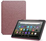 Amazon Fire HD 8 Cover, compatible with 10th generation tablet, 2020 release, Plum