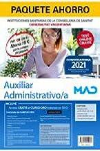 Paquete Ahorro Auxiliar Administrativo Instituciones Sanitarias Generalitat Valenciana. Ahorra 78 € (incluye Temario y tes...