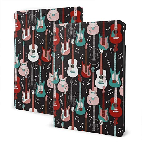 liukaidsfs Guitar Pattern Slim Lightweight Smart Shell Stand Cover Case for iPad Air3 & pro (10.5-Inch,Auto Wake/Sleep)