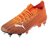 PUMA Ultra 1.1 MXSG, Zapatillas de Fútbol Unisex Adulto, Naranja (Shocking Orange Black), 42.5 EU