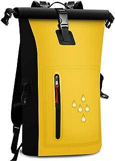 Waterproof, yongluo Waterproof Backpacks Waterproof Bag PVC Double Shoulder Waterproof Bag with Reflective Waterproof Barr...