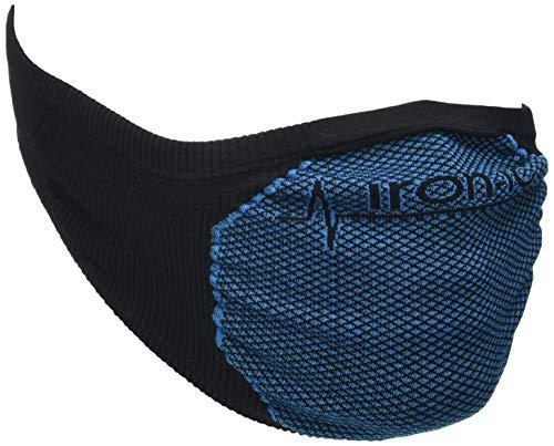 NORMAN Mask IRN 1.0 PRF AD-3PK Made in Italy Scaldacollo, Nero, Taglia Unica Unisex-Adulto