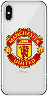 Mirage Cases Soccer Team Club Protective Thin Transparent Case Compatible with iPhone Xs MAX (Style 19, for iPhone Xs MAX)