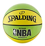 Spalding NBA Varsity Neon Outdoor Basketball - Green/Yellow - Official Size 7...