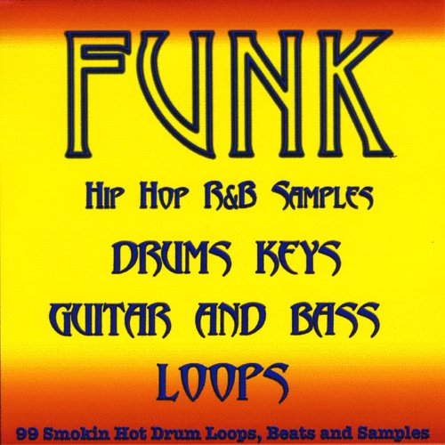 Funk Pop Drum Loops, Guitar, Bass and Keyboard Samples