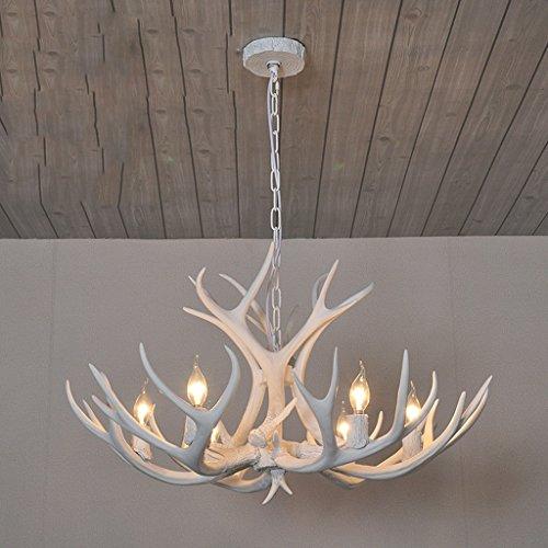 & Perfect ** - Geweihe Kronleuchter American Village Retro Wohnzimmer Lampen Restaurant Lampen Cafe Harz Continental Bar Projekt Kronleuchter