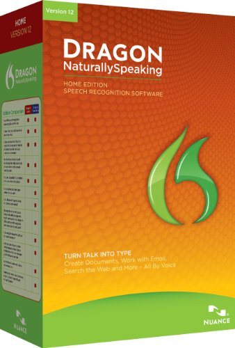 Dragon NaturallySpeaking Home 12.0, Englisch