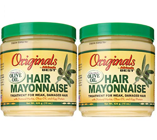 Africa's Best Organics Hair Mayonnaise 15 oz.(pack of 2)