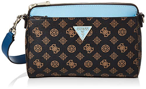 GUESS Maddy Crossbody Brown/Blue One Size