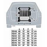 Trixie Transportbox, doppelt, Aluminium, M–L: 93 × 64 × 88 cm