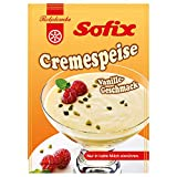 5x Rotplombe Sofix Cremespeise Pudding Vanille (0,2 kg)