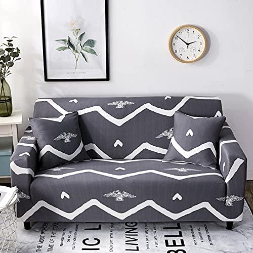 WXQY Elastischer Sofabezug Elastischer Möbelbezug Wohnzimmer Elastischer Sofabezug Sofabezug Sessel Sofabezug A5 1 Sitzer