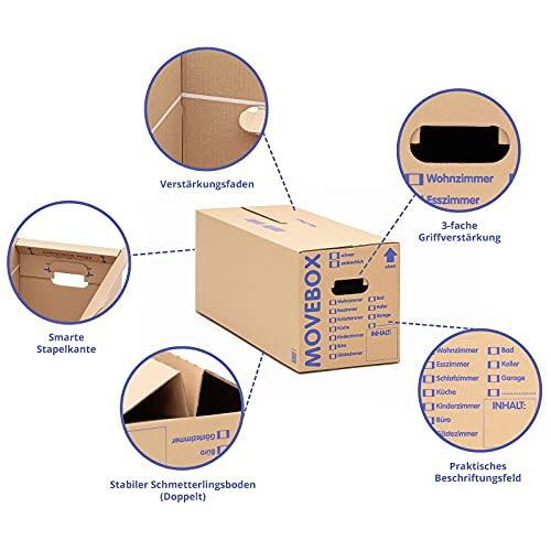 30 Stück Umzugskartons Movebox - 3