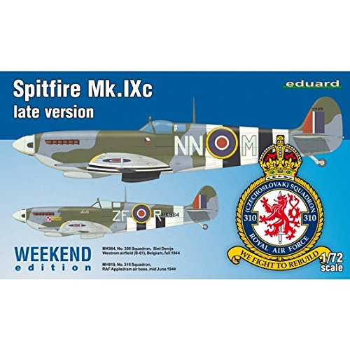 Unbekannt- Maqueta de Spitfire MK.IXc Late Version Weekend