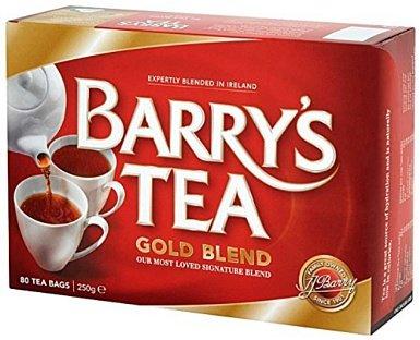 Barry's Gold Blended 80 bustine di tè / etichetta rossa (confezione da 2)