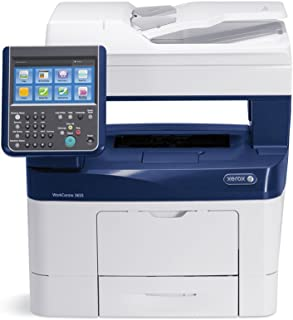 Xerox WorkCentre 3655/X Letter/Legal-size Monochrome Laser Multifunction Printer - 47ppm, Copy, Print, Scan, Fax, 1 Tray
