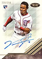 2018 Topps Tier One #BA-VR Victor Robles Certified Autograph Baseball Rookie Card - Only 250 made!