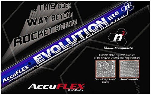 Accuflex EVOLUTION LITE 60 Gram NANO Long Drive Shaft 46' .335 - L,A,R,S,X or 2X Flex (S)