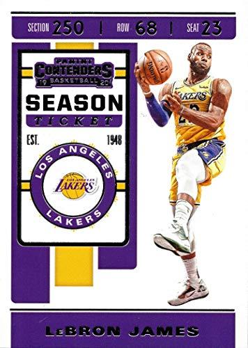 2019-20 Panini Contenders #70 Lebron James Los Angeles Lakers Basketball Card