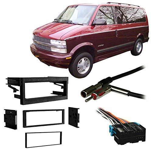 Fits Chevy Astro Van 96-05 Single DIN Stereo Harness Radio Install Dash Kit