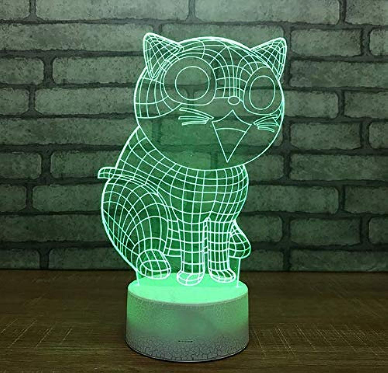 Lüster Led Deckenlampe Wandlampe Nachttischlampe 3D Fernbedienung Optische Tuschung Nachtlicht 7 Farben ndern Tisch Schreibtisch Neben Lampe Dekorative Nachtlicht Spielzeug Geschenk Mit