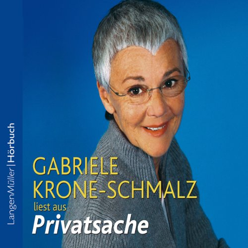 Privatsache audiobook cover art