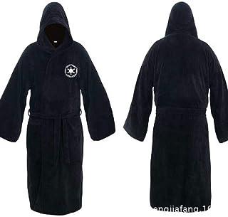 94c85083ee Kevin Bin Empire Bathronet Samurai Pajamas Galaxy Bathrobes Flannel Robe  Plus Long Thicke