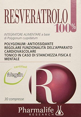 Pharmalife Resveratrolo 100%, 30 Compresse
