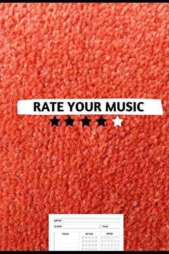 RATE YOUR MUSIC | 100 pagine per recensire i tuoi album | Quaderno delle recensioni musicali